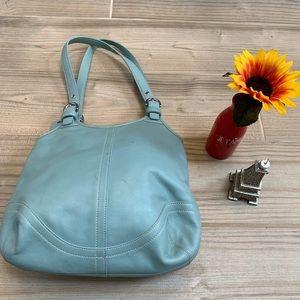 Coach Soft Baby Blue bag L3S 4983